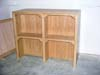 This is a finished hutch.