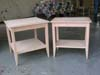 Finished night stands awaiting painting.