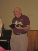 Loyd Ervin leads us in a Wednesday evening bible study