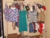 A few of the clothes made for an orphanage in Mexico