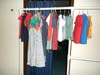 A few of the clothes items our Womens Ministry sewers made