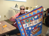 Norma Foskett was our quilter on the lap throws and baby quilts.