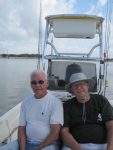 Eugene Esters and Jack Tennison had a good day at sea with our group; not many fish but lots of fun and sunshine.