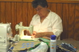 Nancy Esters is a wonderful sewing and quilting instructor.